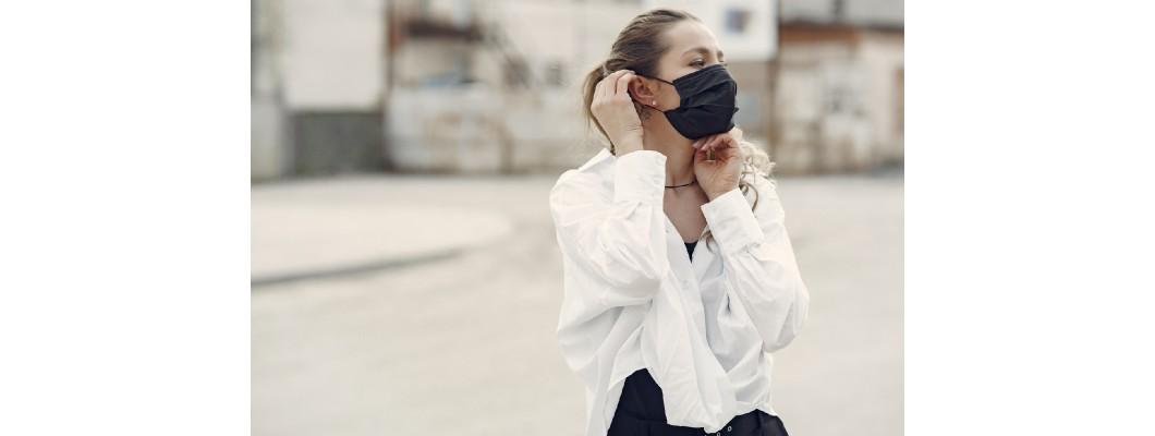 Як носити маску у спеку?