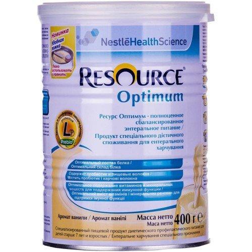 Nestle Resource Optimum смесь для энтерального питания 400 г