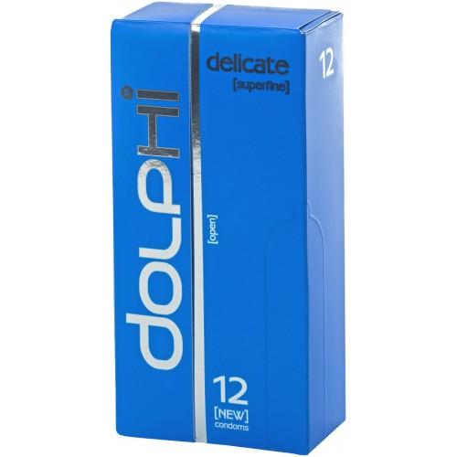 Презервативы Dolphi Lux Delicate особенно тонкие №12
