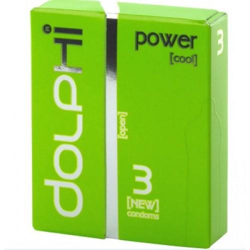 Презервативы Dolphi Lux Power с пролонгирующим эффектом для мужчин №3