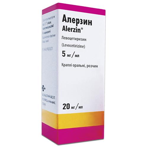 Алерзин капли 20мл