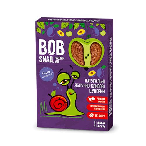 Конфеты Улитка Боб ябл-слива 60 г